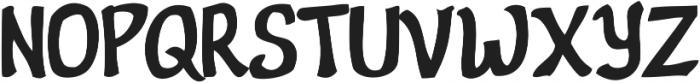 Nevatu ttf (400) Font UPPERCASE