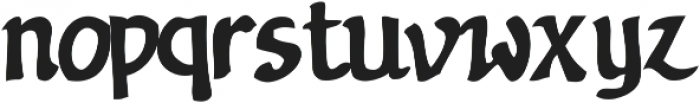 Nevatu ttf (400) Font LOWERCASE