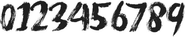 Never Brush ttf (400) Font OTHER CHARS