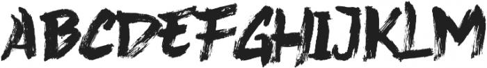 Never Brush ttf (400) Font LOWERCASE