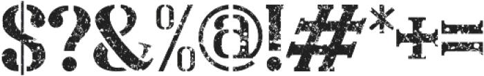 Nevermind otf (400) Font OTHER CHARS