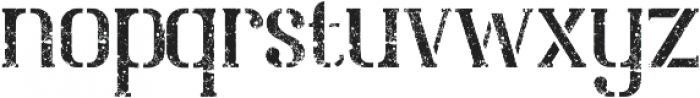 Nevermind otf (400) Font LOWERCASE