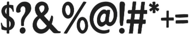 Nevers otf (400) Font OTHER CHARS