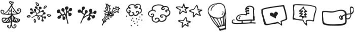 Nevica otf (400) Font LOWERCASE