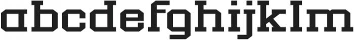 New Academia Expanded Regular otf (400) Font LOWERCASE