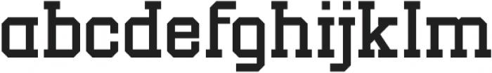New Academia Regular otf (400) Font LOWERCASE