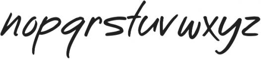 New Font Regular ttf (400) Font LOWERCASE
