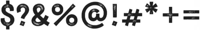 New Jonesy Latin Print Capitals otf (400) Font OTHER CHARS
