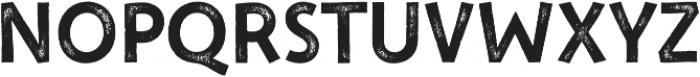 New Jonesy Latin Print Capitals otf (400) Font UPPERCASE