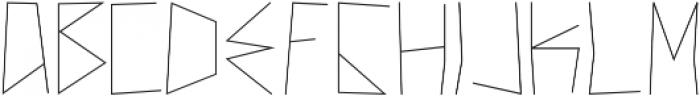 New Theory ttf (400) Font UPPERCASE