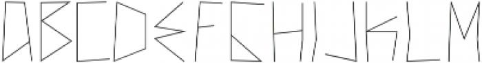 New Theory ttf (400) Font LOWERCASE