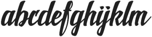 New shine script Regular otf (400) Font LOWERCASE