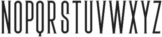 New york Regular otf (400) Font UPPERCASE