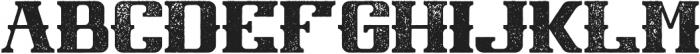 NewCastle Aged otf (400) Font UPPERCASE