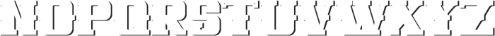 NewCastle ShadowFX otf (400) Font UPPERCASE