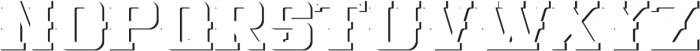 NewCastle ShadowFX otf (400) Font LOWERCASE