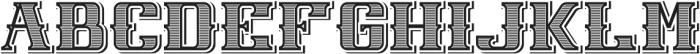 NewCastle TextureAndShadow otf (400) Font UPPERCASE