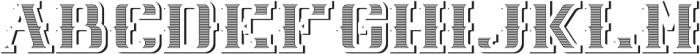 NewCastle TextureAndShadowFX otf (400) Font UPPERCASE