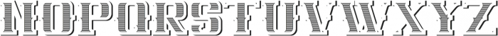 NewCastle TextureAndShadowFX otf (400) Font LOWERCASE