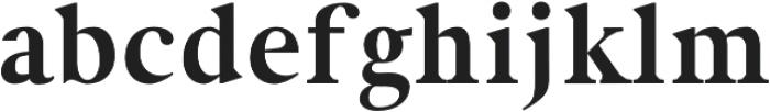 Newburgh otf (700) Font LOWERCASE