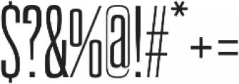 Newgate Slab ttf (400) Font OTHER CHARS