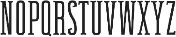 Newgate Slab ttf (400) Font UPPERCASE