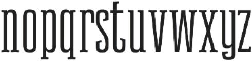 Newgate Slab ttf (400) Font LOWERCASE