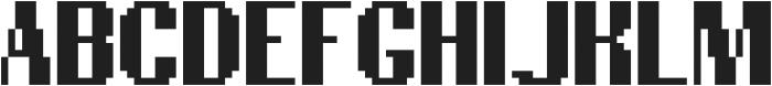 Newsgeek ttf (400) Font UPPERCASE