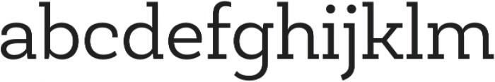 Newslab Book otf (400) Font LOWERCASE