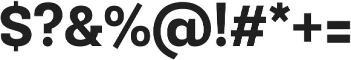 Newslab ExtraBold otf (700) Font OTHER CHARS