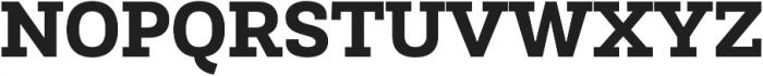 Newslab ExtraBold otf (700) Font UPPERCASE