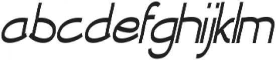 Newtopia Condensed Italic otf (400) Font LOWERCASE