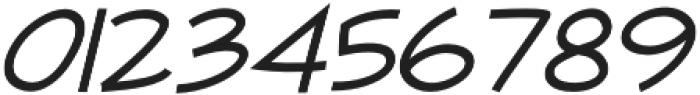 Newtopia Italic otf (400) Font OTHER CHARS