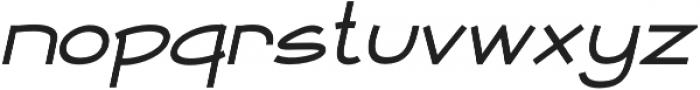 Newtopia Italic otf (400) Font LOWERCASE