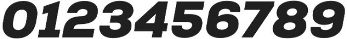 Nexa Black Italic otf (900) Font OTHER CHARS