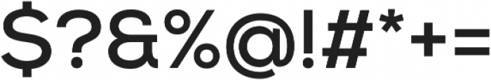 Nexa Bold otf (700) Font OTHER CHARS