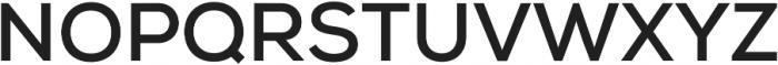 Nexa Bold ttf (700) Font UPPERCASE
