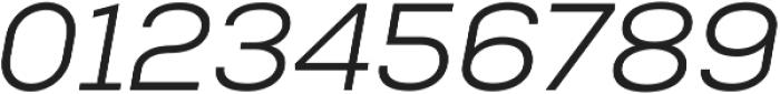 Nexa Book Italic ttf (400) Font OTHER CHARS
