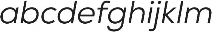 Nexa Book Italic ttf (400) Font LOWERCASE
