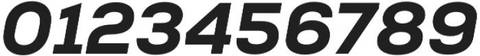 Nexa Heavy Italic otf (800) Font OTHER CHARS
