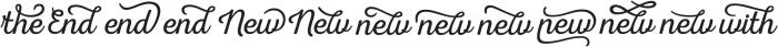 Nexa Rust Extras Script otf (400) Font UPPERCASE