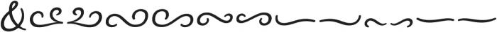 Nexa Rust Extras Script otf (400) Font LOWERCASE