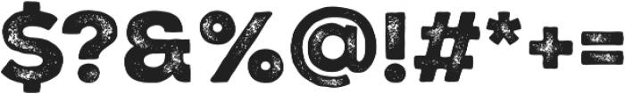 Nexa Rust Sans Black 02 otf (900) Font OTHER CHARS