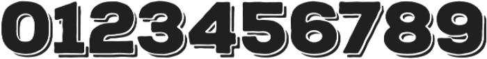 Nexa Rust Sans Black Shadow otf (900) Font OTHER CHARS