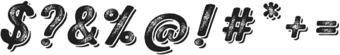 Nexa Rust Script B Shadow 03 otf (400) Font OTHER CHARS