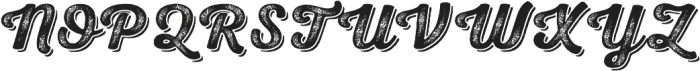 Nexa Rust Script B Shadow 03 otf (400) Font UPPERCASE
