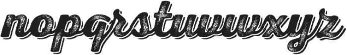 Nexa Rust Script B Shadow 03 otf (400) Font LOWERCASE