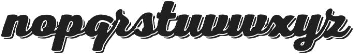 Nexa Rust Script H Shadow 00 otf (400) Font LOWERCASE