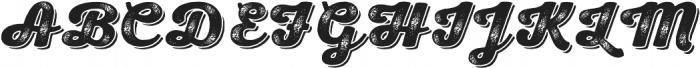 Nexa Rust Script H Shadow 02 otf (400) Font UPPERCASE