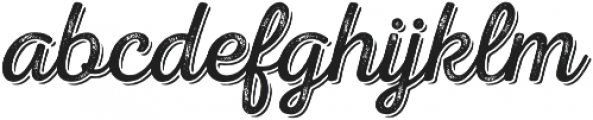 Nexa Rust Script L Shadow 02 otf (400) Font LOWERCASE